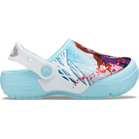 Crocs Fun Lab OL Disneys Frozen 2 Clogs Niñas, ice blue